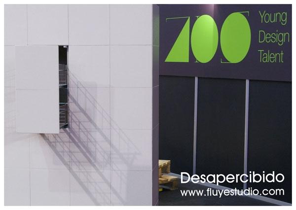 Desapercibido en Zaragoza Design Show. Fotos del prototipo.