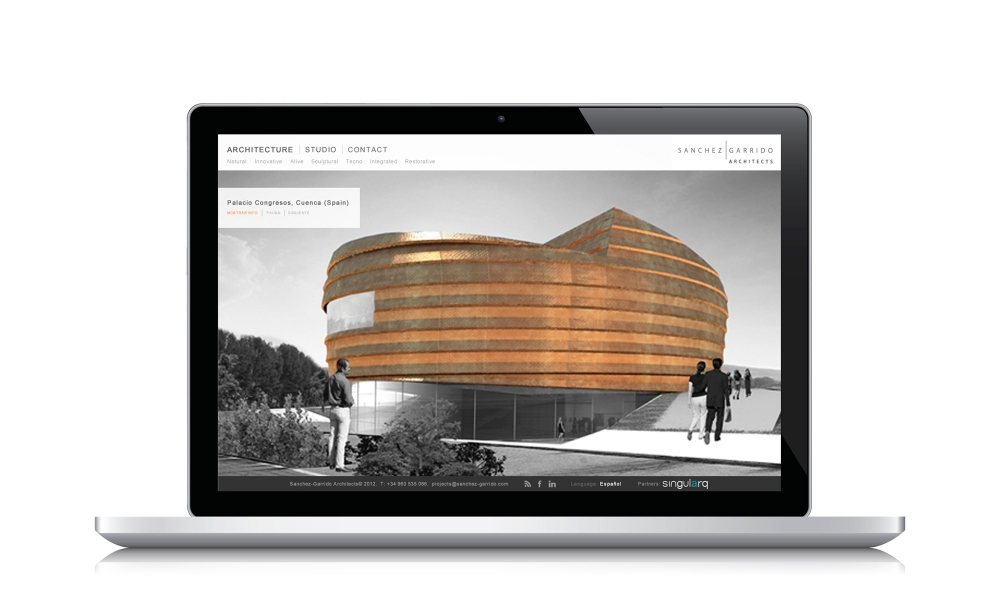 Web. Sanchez-Garrido Architects